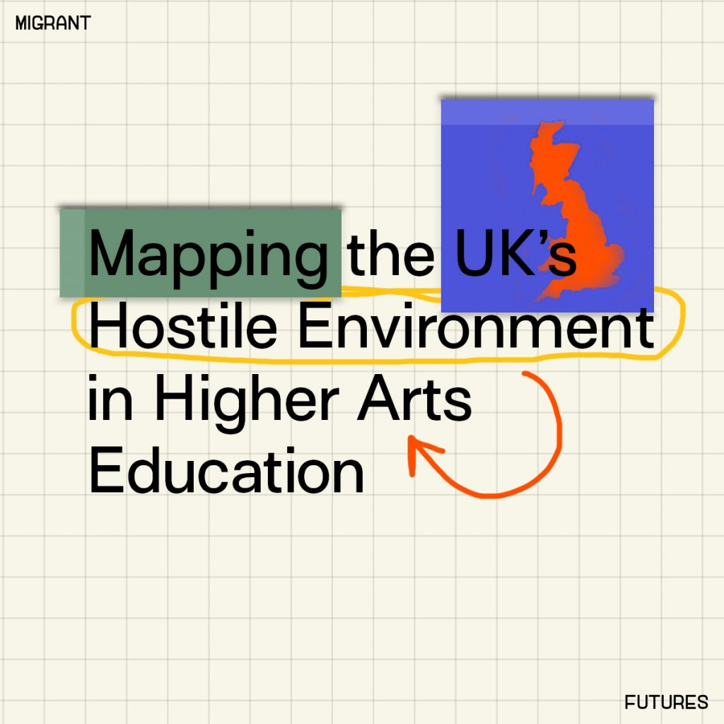 Mapping the Hostile Environment in Higher Arts Education: Workshop 3
